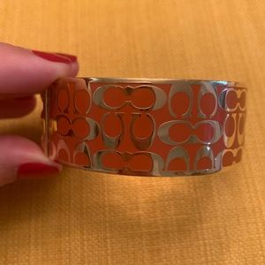 New Without Tags Coach New York Monogramed Bangle